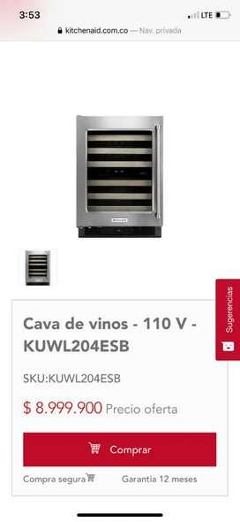 Venda caba  de vinos marca kitchenald