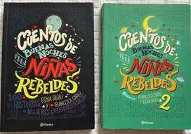 """Vendo Libro """"Cuentos De Buenas Noches Para Niñas Rebeldes"""""""