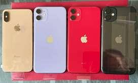 Iphone 11,XS y XS MAX,todos 256GB,nuevos sin caja con accesorios,garantia oficial verificable
