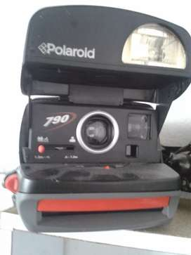 Camara instantanea antigua polaroid año 1996
