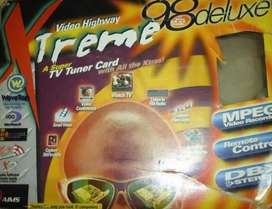 Sintonizadora Tv/fm Video Highway Xtreme 98 Deluxe (pci)