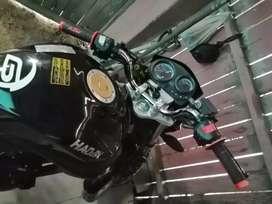 Vendo moto Haojin