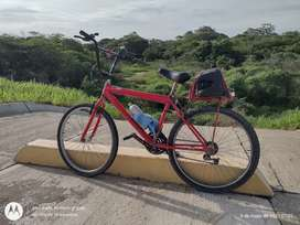 Vendo bicicleta Rin 26 balineras selladas cacho deportivo