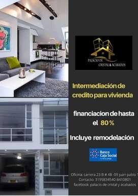 Intermediacion de credito para vivienda
