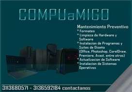 Formateo, Reparación y Mantenimiento de Computadores