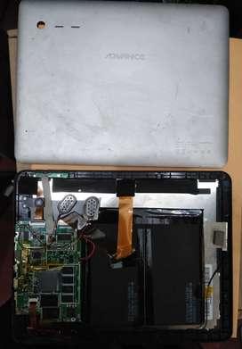 PANTALLA LCD, PLACA ( TARJETA ) DE TABLET ADVANCE AT-6141 - REPUESTOS