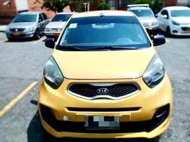 Taxi Kia Picanto modelo 2015