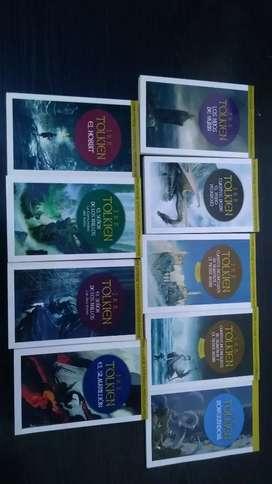 Coleccion J.R.R. Tolkien el señor de los anillos y mas