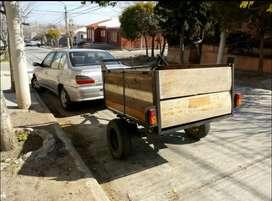 Vendo carro muy reforzado hierros gruesos y buenas maderas.