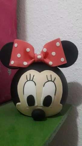 adorno de torta de Minnie
