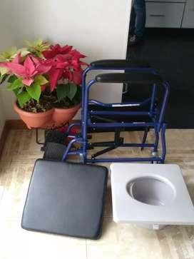 Silla de ruedas/baño