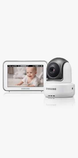 Monitor para bebes camara hd gira Samsung sew-3043w