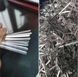 clips de mascarilla importados de aluminio