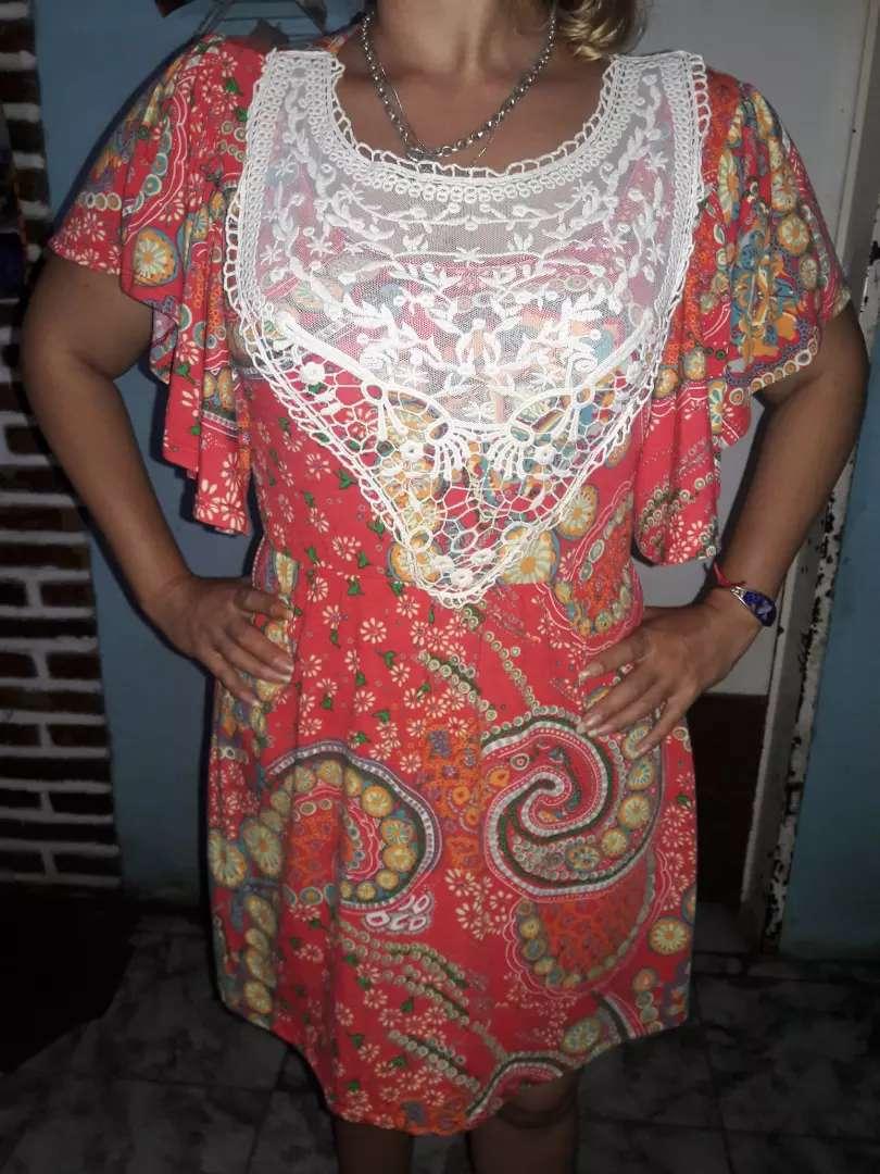 Vestido colorido 0