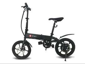 Bicicleta Eléctrica Plegable Dyu (Bicimoto)