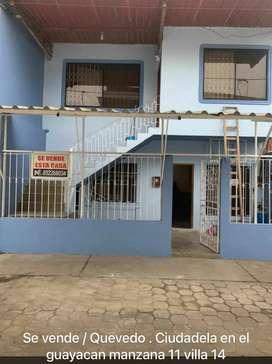 CASA EN VENTA - Quevedo (Cdla. El Guayacan)