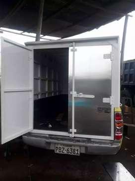 Construimos furgones plataformas cajones metalicos y casetas