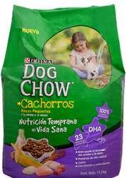 Dog Chow cachorros razas pequeñas 17 kilos