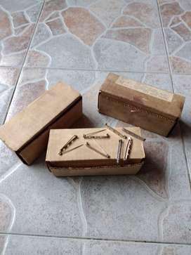 LOTE DE 2 cajas de 500 UNIDADES BROCHES PASADORES