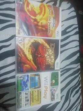Vendo 3 juegos de nintendo wii originales precio fijo