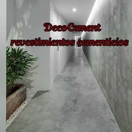 Microcemento, Spray Deck, Pisos Estampados