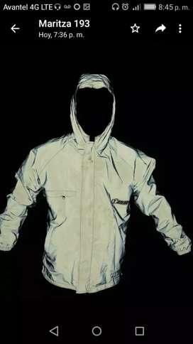 Chaquetas doble faz reflectiva, chaqueta de protección.