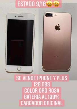 VENDO IPHONE 7 PLUS EXCELENTE ESTADO
