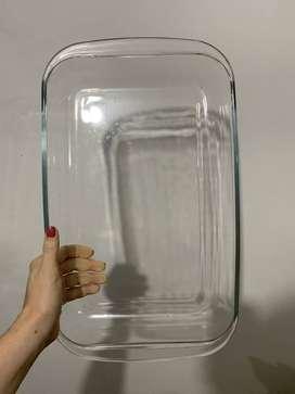 Refractaria Rectangular en vidrio para el horno/la cocina