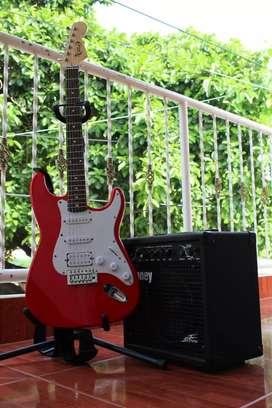Guitarra electrica + Amplificador