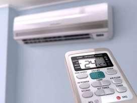 instalacion de aire acondicionado en el dia