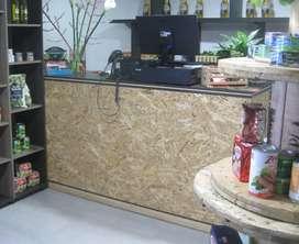Mueble mostrador ó de almacenamiento