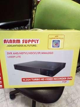 Vendo lote de 15 DVR nuevos 16 CH Alarm Supply Pentahibridos de 2 MP