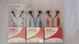 Audífonos multicolor NIA