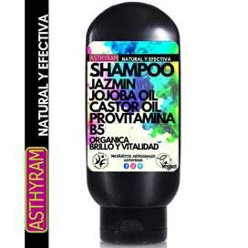 Shampoo Jasmin / Jojoba, Natural Y Efectiva 8.8 Oz / 250 Ml