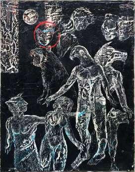 Oleo sobre lienzo, maestro Edilberto Sierra, certificado