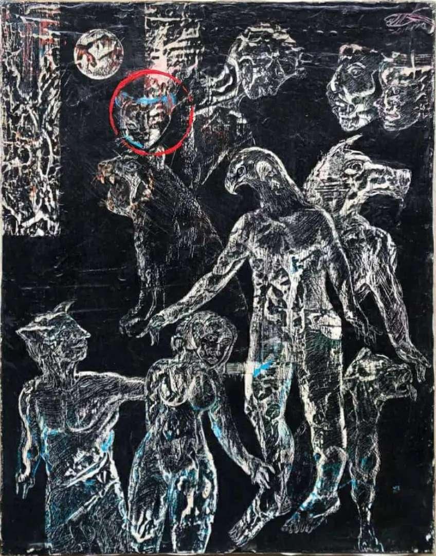 Oleo sobre lienzo, maestro Edilberto Sierra, certificado 0