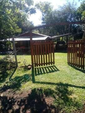 Vendo terreno con casa en Cerro Cora Misiones