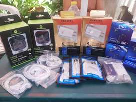 Audifonos cargadores cables USB
