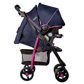 Coche travel jazz pink bebesit