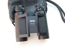Binocular Z E I S S Compact 8x20 West Germany L I Q U I D O  !!!