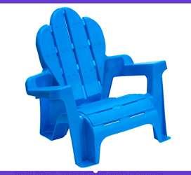 Silla trono plástico niños niñas