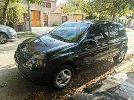 Renault, clio, 1.2,3 puertas, nafta, 2005, negro