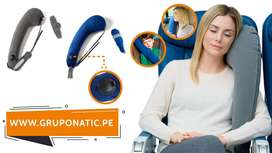 Almohada Inflable Para Viajar Auto Avion Gruponatic San Miguel