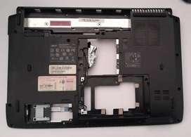 Carcasa Completa Para Portátil Acer Aspire 4535 Series Con Bisagras Cámara Flex Bisel Y Tapa