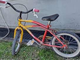 Vendo bici niño rodado 14