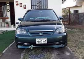 Vendo honda civic manual rines 17 sunruf radio de pantalla interior bn concervado