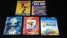 Albumes Panini de mundiales de fútbol