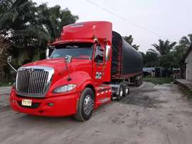 Vendo tractomula internacional prostar modelo 2012 full equipo con trailer capri modelo 2008