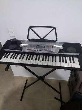 Piano teclado MK 2061 + soporte
