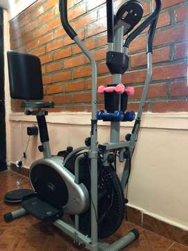Bicicleta eliptica 10 en 1